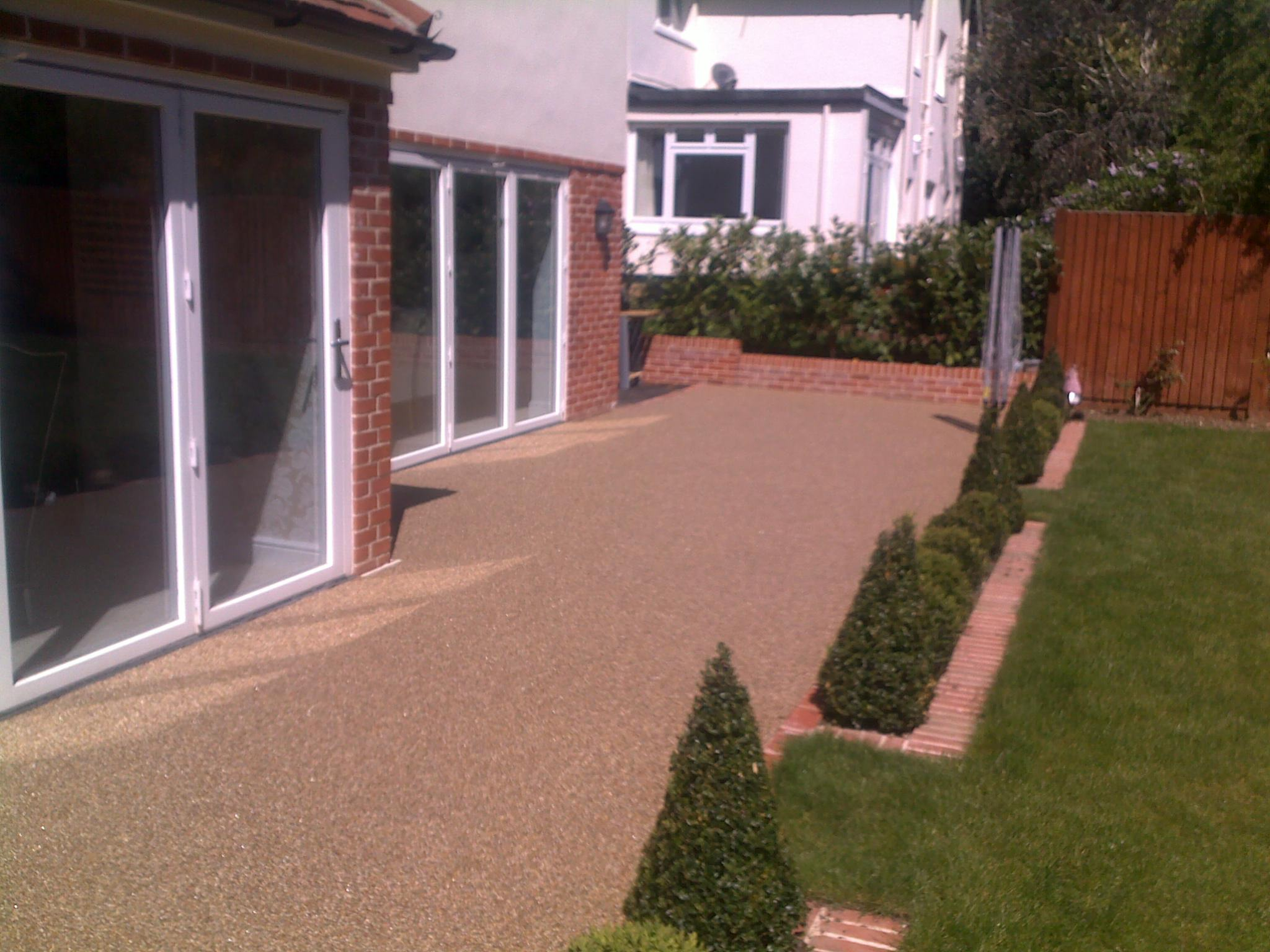 Resin Bound Gravel Patio